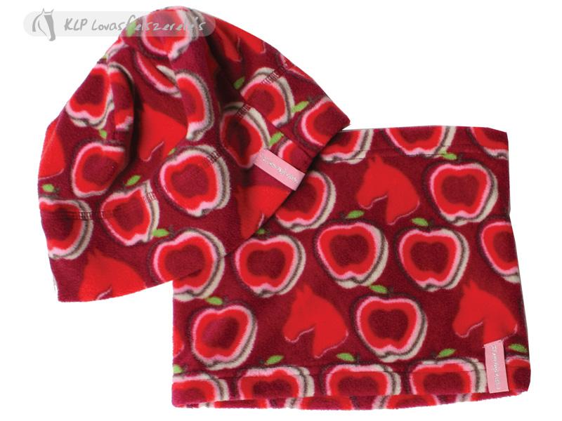 Fleece Hat   Neckwarmer Set Kids - KLP Lovasfelszerelés 46e0f4c241