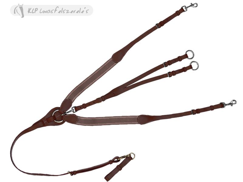 Daslö Y Shaped Breastgirth Pony Stainless Steel