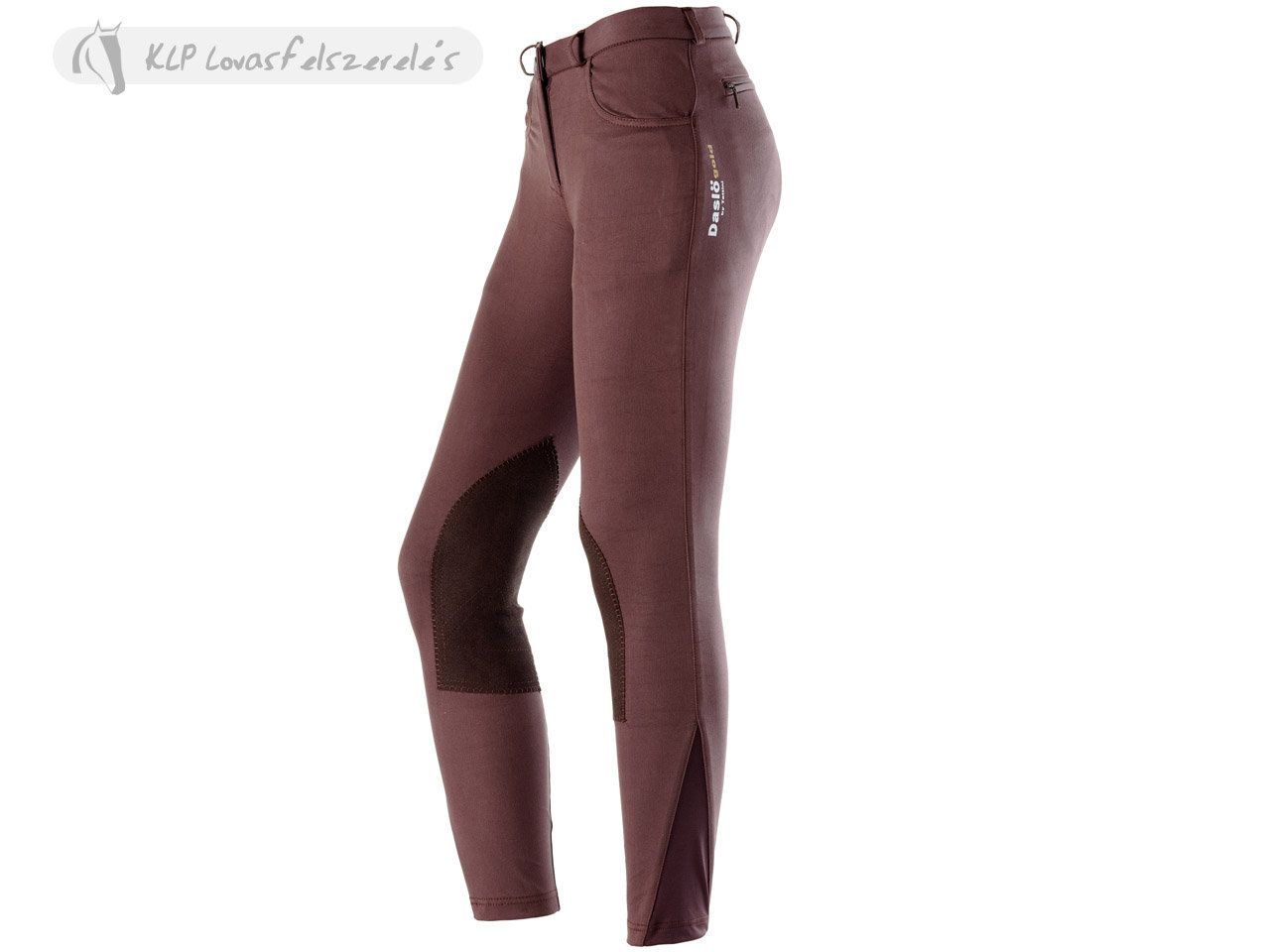 Daslö Gold Ladies Breeches Ninfa With Suede Knee Patch