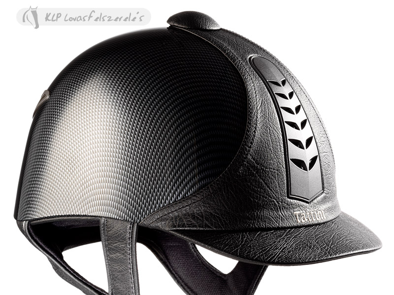 Tattini Leatherette Carbon Look Riding Cap