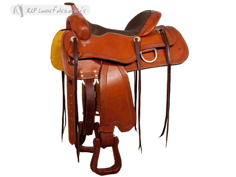 Brad Rens Trail Saddle No. 4001.