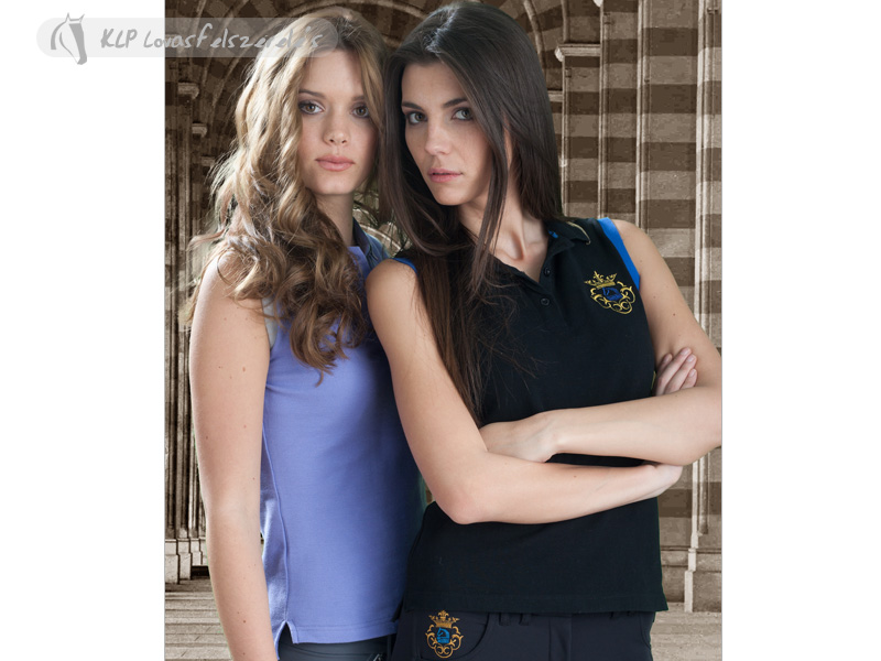 Tattini Lady's Polo Shirt Without Sleeves