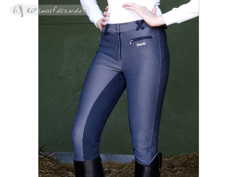 Daslo Gold Striped Knitted Microfibre Breeches
