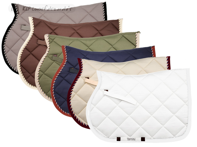 Tattini Saddle Pad With Waffle Lining