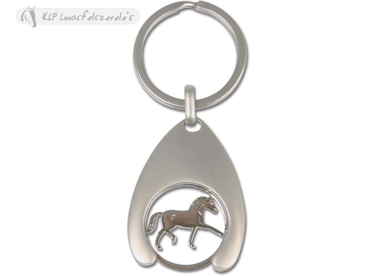 Kulcstartó Ügető Lóval