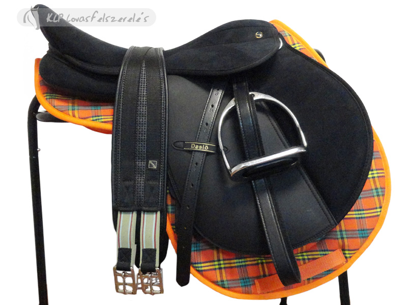 Synthetic Complete Daslo Pony Saddle Set